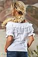 Блуза 2160 белый, фото 4