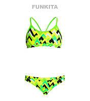 Раздельный купальник для девочек Funkita Tiptonic FS02, фото 1