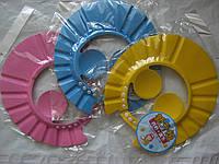 Шапочка-козырек для купания Разные цвета