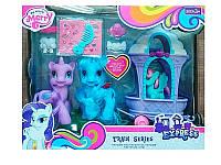 Игрушка для девочек  Пони (102) 3 шт в коробке с аксессуарами