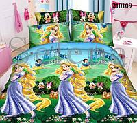 Рапунцель подростковое постельное белье