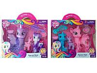 Игровой набор для девочек  Пони (093) 3 шт. в коробке с аксессуарами, 2 вида