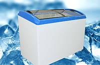 Морозильный ларь JUKA  M 400 S  416 л, гнутое стекло