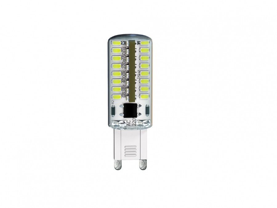 Лампа 3Вт 3000K G9 DELUX G9E ЛЕД