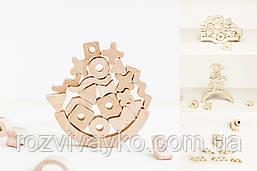 Креативний балансир дерев'яний