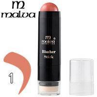 Румяна-стик со спонжем Blusher Stick Malva M-485 тон 01
