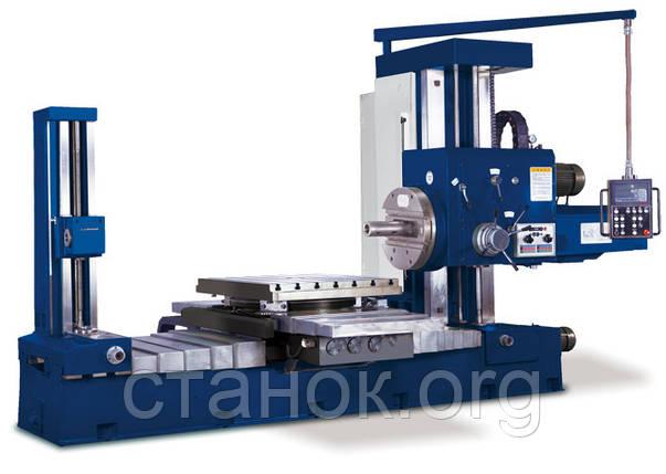 Zenitech HBM 1100 Горизонтальный фрезерно-расточной центр зенитек шбм 1100, фото 2