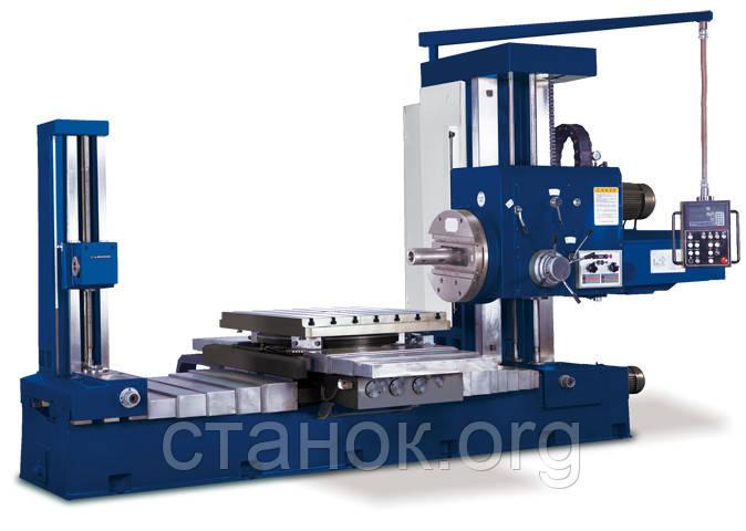 Zenitech HBM 1100 Горизонтальный фрезерно-расточной центр зенитек шбм 1100