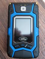 "Противоударная раскладушка Land Rover X9 Flip blue синяя IP67 2SIM 3.5"" 0,2/1 Гб 3 Мп оригинал Гарантия!"