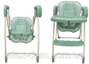 Электрокачель-стульчик для кормления 2 в 1 Metr+ Bambi TS 100-4