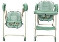 Электрокачель-стульчик для кормления 2 в 1 Metr+ Bambi TS 100-4, фото 1