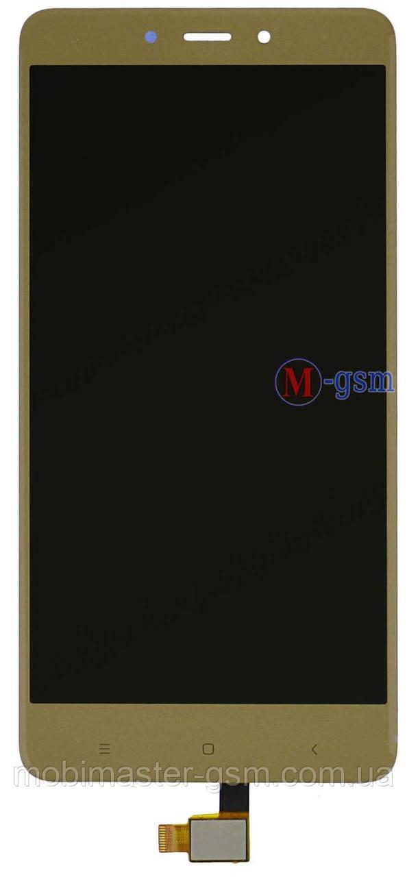 LCD модуль Xiaomi Redmi Note 4 gold