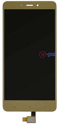 LCD модуль Xiaomi Redmi Note 4 gold , фото 2