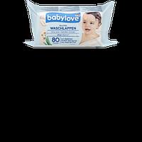 Влажные салфетки для младенцев Babylove Kamillen Extrakt, 80 шт
