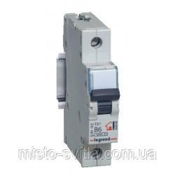 Автоматический выключатель TX3 40А 1п 6кА В (автомат) Legrand Легранд