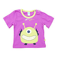 Детская футболка для мальчика Minikin (фиолетовый)