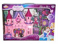 Игровой набор для девочек Замок Принцессы (SG2978) c куклой, каретой, муз., свет., на батар., с мебелью, аксе