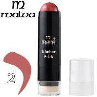Румяна-стик со спонжем Blusher Stick Malva M-485 тон 02