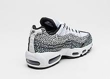Женские кроссовки Nike Air Max 95 Premium Safari Pack 807443-100, Найк Аир Макс 95, фото 3