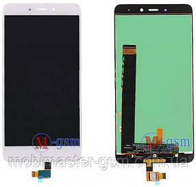 LCD модуль Xiaomi Redmi Note 4 white