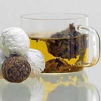 Белый чай Белая Жемчужина Дракона (Бай Лун Чжу)