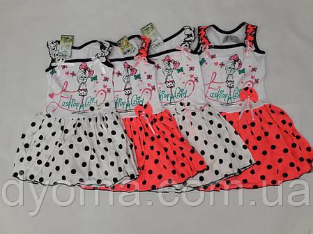 """Детское платье """"Фешен"""" для девочек, фото 2"""