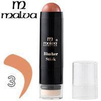 Румяна-стик со спонжем Blusher Stick Malva M-485 тон 03