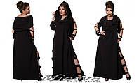 Оригинальное платье большого размера 50-60 разные цвета