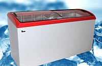 Морозильный ларь JUKA  M 600 S,  597 л, гнутое стекло