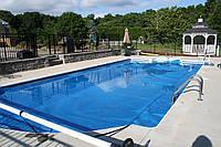 Воздушно-пузырьковое покрытие для бассейна