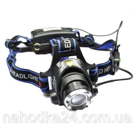 Налобный фонарь Police BL-6699 T6, фото 2