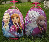 """Детский чемодан 16"""" на колесах Frozen"""