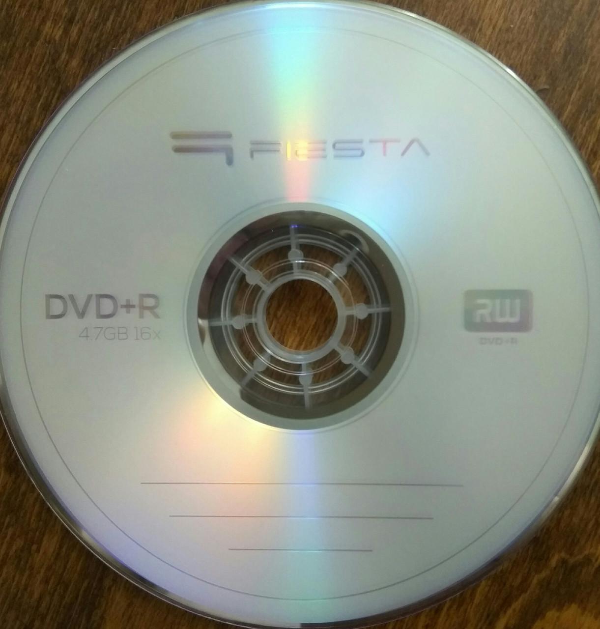 DVD + R Fiesta 16 х (50 шт)