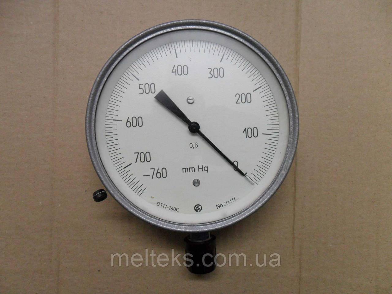 Вакуумметр точных измерений ВТП-160С в мм ртутного столба