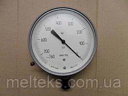 Вакуумметр точних вимірювань в мм ртутного стовпа