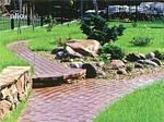 Садовые дорожки из природного камня как элемент ланшафтного дизайна!!!!
