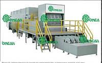 Полная автоматическая линия по производству картонных лотков для яиц