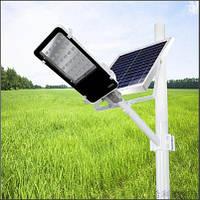 Фонарь уличный LED с солнечной батареей 30W