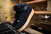 """Nike Air Force 1 HI Suede """"Black"""""""