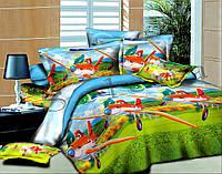 Самолетики подростковое постельное белье