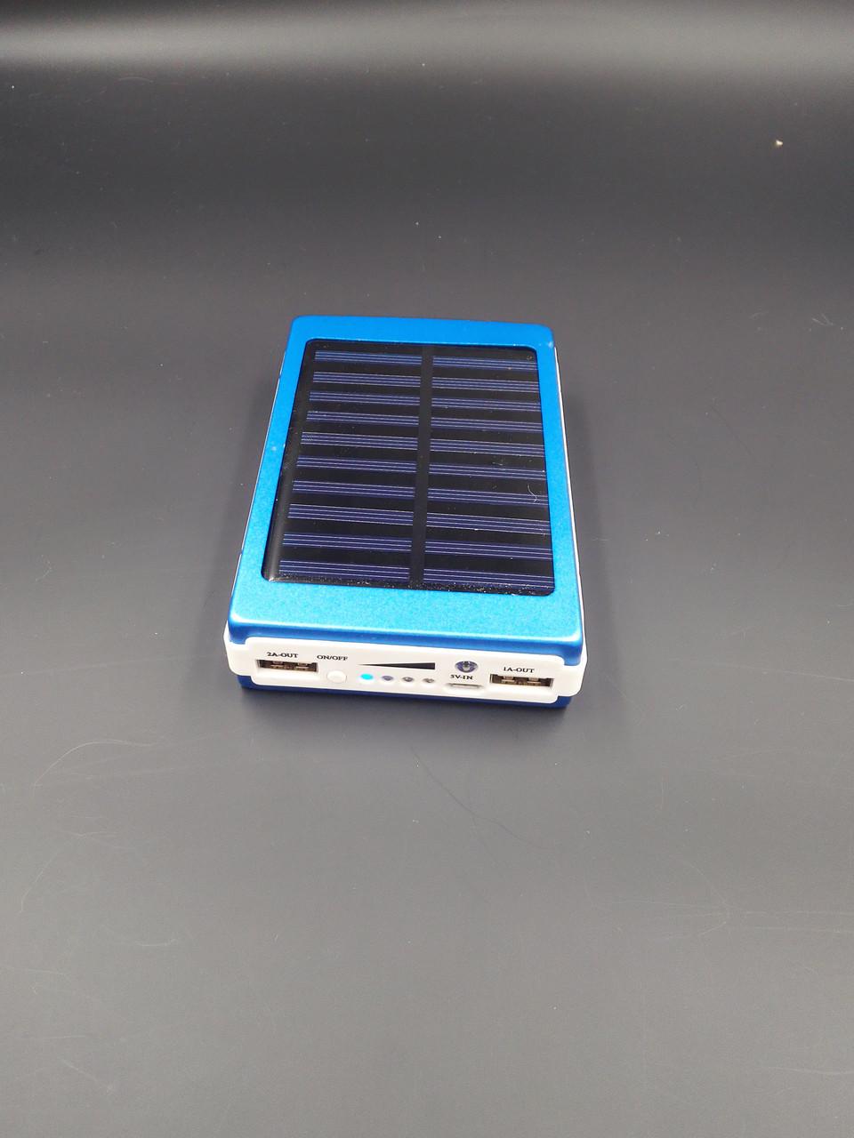 Power bank 25000mAh c солнечной батареей