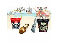 Набор для песочницы пиратский, ведерко, 790AB