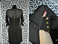 """Женское платье в стиле """"Рубашки"""" Турция 42, 44, 46 размер норма"""