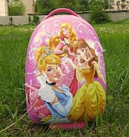 """Детский дорожный чемодан для девочки Принцессы 16"""" на колесах"""