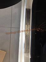 Накладки на дверные пороги Omsa на Kia Picanto 2010-2015 2012
