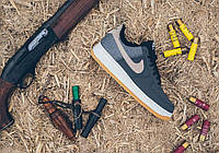 """Nike Air Force 1 Anthracite Bamboo """"Black/Gum/Light/Brown"""""""
