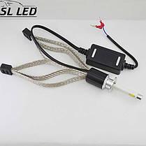 Комплект LED ламп в головной свет серии SL-R4 Цоколь H3, 40W, 4800 Люмен/Комплект, фото 2