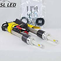 Комплект LED ламп в головной свет серии SL-R4 Цоколь H3, 40W, 4800 Люмен/Комплект, фото 3