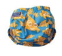 """Детские трусики """"Konfidence Aquanappies"""" для плавания (3 - 30 месяцев) ТМ Konfidence цвет Clownfish/голубой"""