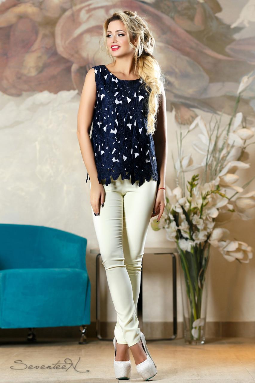 Блуза 2161 синий